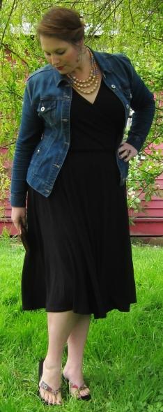 midi dress and jacket/ shapedbystyle.wordpress.com